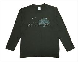 軽井沢 ● 森の夜想Tシャツ(長袖)